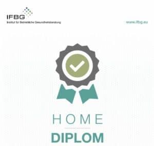 Ein Ausschnitt des Home-Diplom des IFBG