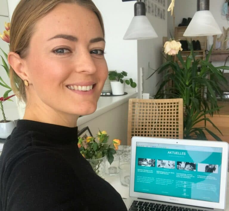 Lisa Goetz im Home-Office