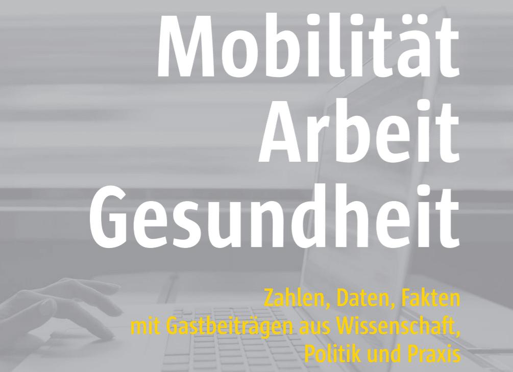 Titelbild des BKK Gesundheitsreport 2020: Mobilität, Arbeit und Gesundheit
