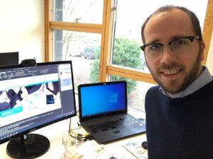 Christian Fuhrken hält einen Workshop zum Thema Analysen online