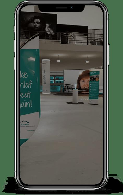 Ein Auszug aus unserem virtuellen Schlaf-Parcours
