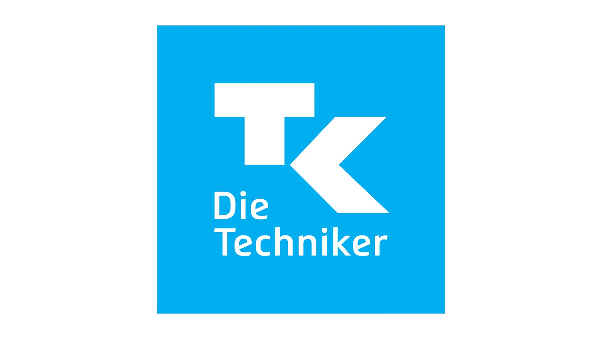 Das Logo der Techniker Krankenkasse.